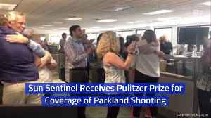 The Sun Sentinel Gets A Coveted Award [Video]