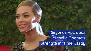 Beyonce Puts Her Love Of Michelle Obama On Paper [Video]