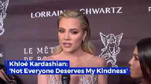 Khloe Kardashian Comes To An Important Realization [Video]