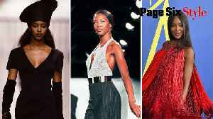 How Naomi Campbell went from mall rat to magazine megastar [Video]
