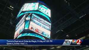 Toronto Raptors at Orlando Magic Friday night [Video]
