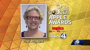 This week's golden apple winner is Pam Mayfield [Video]