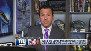NFL Network Insider Ian Rapoport: It's 'fascinating' how many people are 'convinced' New York Giants draft quarterback at No. 6 [Video]