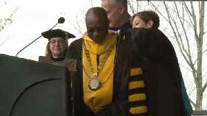 Pennsylvania College Inaugurates an African King as its President [Video]