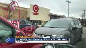 Good Samaritan saves woman from scary situation at Target [Video]