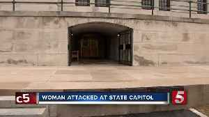 Woman attacked at state capitol [Video]