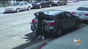 Scooter Smash-And-Grab Burglaries On The Rise [Video]