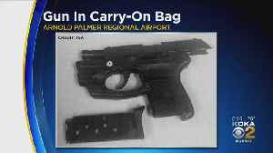 Jeannette Man With Gun In Carry-On Bag Stopped At Arnold Palmer Airport [Video]