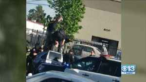 Wild Police Pursuit Ends In South Sacramento [Video]