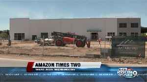New Amazon site building on Tucson's west side [Video]