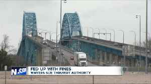 Fed up with fines: Western New Yorkers sue Thruway Authority over cashless tolls [Video]