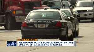Milwaukee Police pursuing vehicles at record levels [Video]