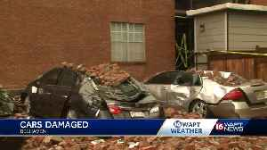 Storm leaves mark on a Belhaven apartment building [Video]