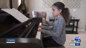 An 8-year-old Colorado girl who was born deaf was chosen for the lead role in a musical [Video]