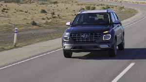 News video: 2020 Hyundai Venue Driving Video