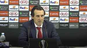 News video: Unai Emery 'proud' of Arsenal players after win against Napoli