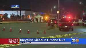 Hit-And-Run Driver Kills Bicyclist In Sun Valley [Video]