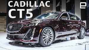 Cadillac CT5 at the New York Auto Show: 'Super Cruise' in a smaller package [Video]