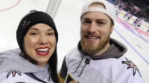 YouTube stars return home after epic VGK road trip [Video]