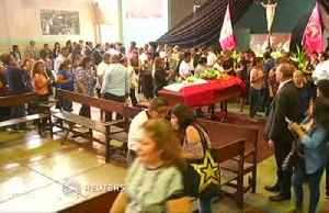 News video: Wake for ex-president Garcia raises old political scores in Peru