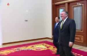 News video: North Korea demands Pompeo's removal from talks; U.S. plays down weapons test