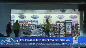 Woman Facing Charges After Car Crashes Into Brockton Gas Station Convenience Store [Video]