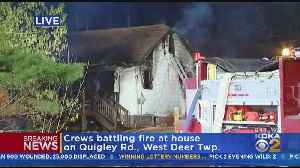 House Fire In West Deer Township [Video]