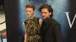Kit Harington 'can't stand' watching wife Rose Leslie kiss other actors on screen [Video]