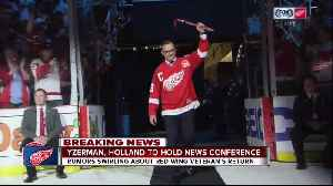 Detroit Red Wings to hold news conference with Steve Yzerman [Video]
