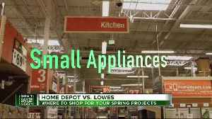 Home Depot vs. Lowes: Where to shop for your spring projects [Video]