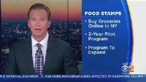 NY Food Stamps Now Good For Grocery Delivery [Video]