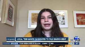Denver activist, 13-year-old Haven Coleman, wants 2020 presidential candidates to talk environment [Video]