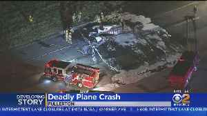 FAA Investigates Fiery Plane Crash Which Killed Pilot At Fullerton Airport [Video]