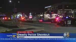 Fremont Police Fatally Shoot Man Near BART Station [Video]