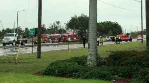 700 gallons of diesel fuel leak after crash in Palm Beach County [Video]