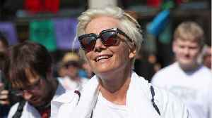 Emma Thompson Joins Peaceful Climate Protest In London [Video]