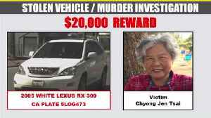 $20K Reward Offered for Info on Grandmother Found Stabbed, Beaten, and Strangled in Backyard [Video]