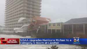 NOAA Upgrades Hurricane Michael To Category 5 [Video]