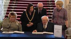 Michael D Higgins: Journalist's death was 'an attack on truth itself' [Video]