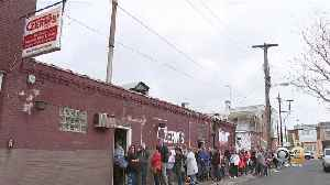 Lines Form Outside Czerw's Polish Kielbasa In Port Richmond For Easter Dinner Tradition [Video]