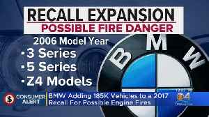 BMW Adding More Vehicles To Recall [Video]