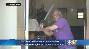 'This Here Is My Gun': 65-Year-Old Florida Woman Bashes Would-Be Burglar In Head With Bat [Video]