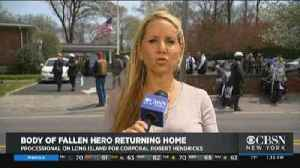 Locust Valley Marine Brought Back Home [Video]