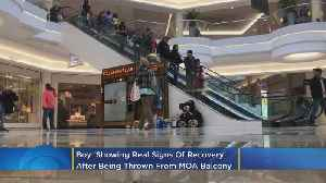 Boy Thrown From MOA Balcony 'Showing Real Signs Of Recovery' [Video]