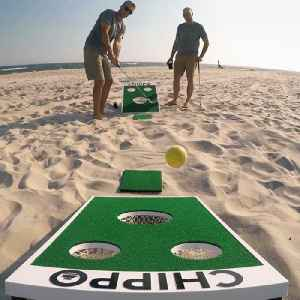 This game combines cornhole and golf [Video]