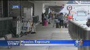 Another Case Of Measles Reported At LAX [Video]