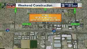 News video: Easter weekend freeway closures