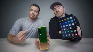 Unbox Therapy and the Galaxy Fold Problem [Video]