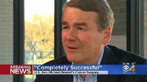Michael Bennet Surgery For Prostate Cancer Successful [Video]