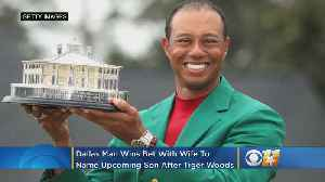 Dallas Man Wins Bet With Wife To Name New Son 'Tiger' After Woods' Masters Win [Video]